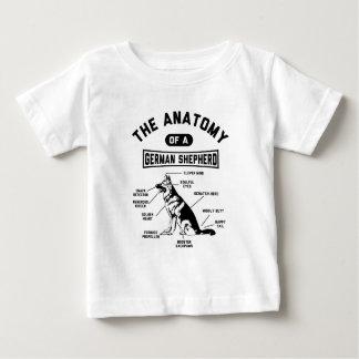 The Anatomy Of A German Shepherd Baby T-Shirt