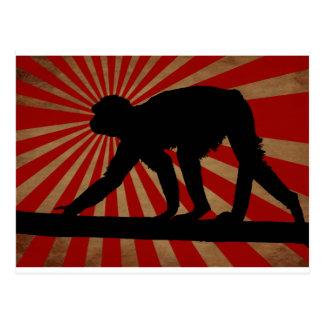 The Ancient Monkey - Postcard