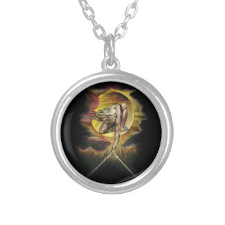 The Ancient Of Days Silver Plated Necklace