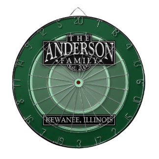 The Anderson Family Dart Board