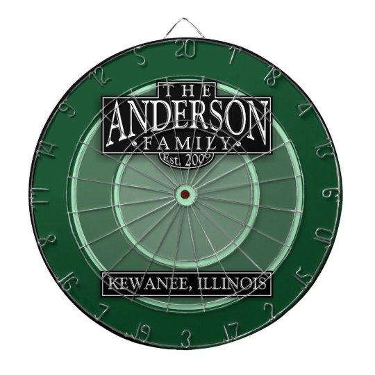 The Anderson Family Dart Board