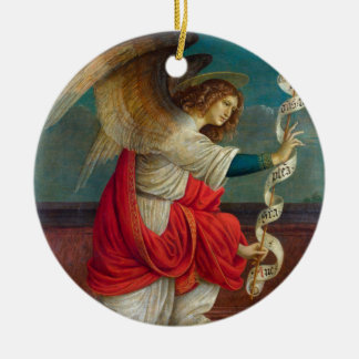 The Angel Gabriel - Gaudenzio Ferrari Ceramic Ornament