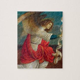 The Angel Gabriel - Gaudenzio Ferrari Jigsaw Puzzle