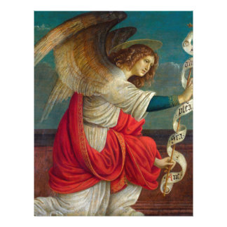 The Angel Gabriel - Gaudenzio Ferrari Letterhead