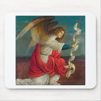 The Angel Gabriel - Gaudenzio Ferrari Mouse Pad