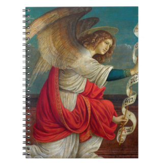 The Angel Gabriel - Gaudenzio Ferrari Notebooks