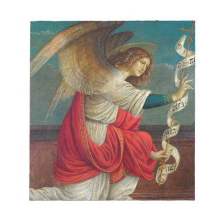 The Angel Gabriel - Gaudenzio Ferrari Notepad