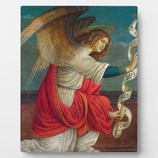 The Angel Gabriel - Gaudenzio Ferrari Plaque