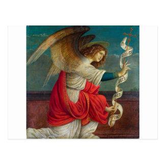 The Angel Gabriel - Gaudenzio Ferrari Postcard