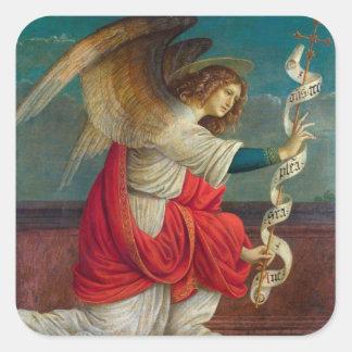 The Angel Gabriel - Gaudenzio Ferrari Square Sticker