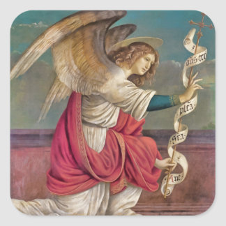 The Angel Gabriel Square Sticker