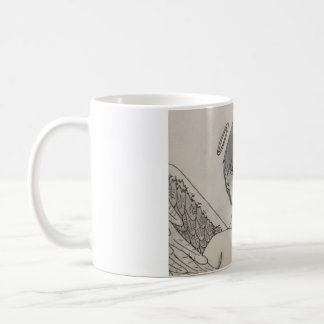 The angel is the demon coffee mug