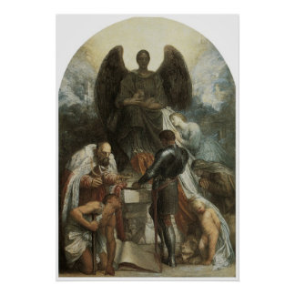 The Angel of Death Print