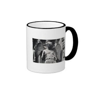 The Angel with a Smile Ringer Mug
