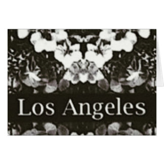The Angels are Watching Los Angeles Giftcard Card