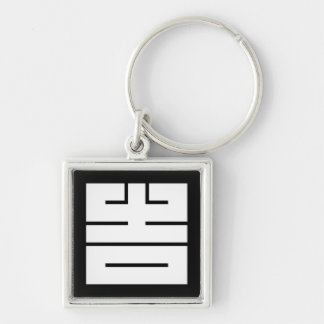The angular letter of good fortune (to come, the keychain