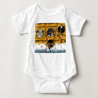 The Animals Went in Two By Two, Birthday Card Noah Tshirts