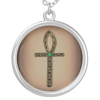The Ankh (gold) Silver Plated Necklace