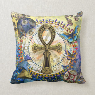 The Ankh Throw Pillow