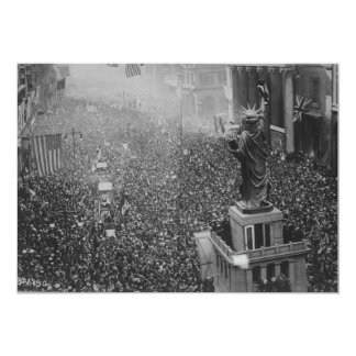 The Announcing of the Armistice 11.11.1918 Card