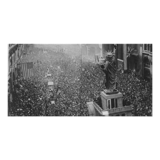 The Announcing of the Armistice 11.11.1918 Photo Greeting Card
