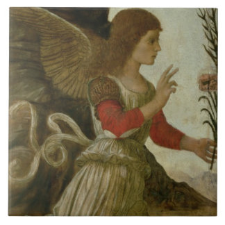 The Annunciating Angel Gabriel Tile