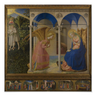 The Annunciation, 1425-8 Poster
