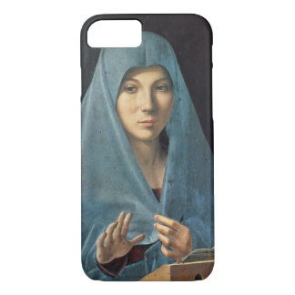 The Annunciation, 1474-75 (oil on panel) Case-Mate iPhone Case