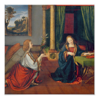 The Annunciation, 1506 Poster