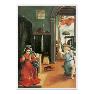 The Annunciation, 1534-35 Poster