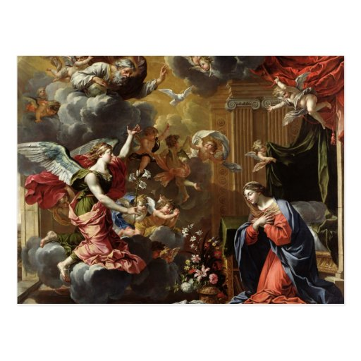 The Annunciation, 1651-52 Post Cards