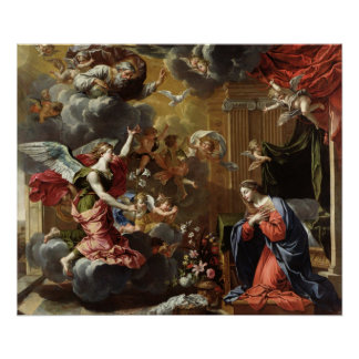 The Annunciation, 1651-52 Poster