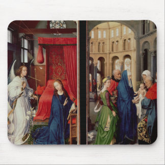 The Annunciation and the Presentation in Temple Mouse Pad