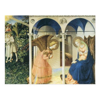 The Annunciation by Fra Angelico Postcard