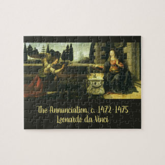 The Annunciation by Leonardo da Vinci Jigsaw Puzzle