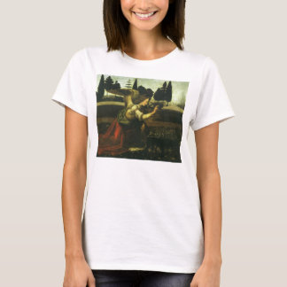 The Annunciation by Leonardo da Vinci T-Shirt