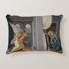 The Annunciation by Sandro Botticelli Decorative Pillow