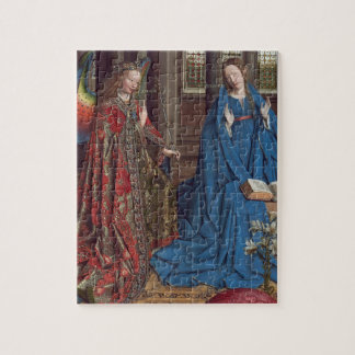 The Annunciation, c. 1434- 36 (oil on canvas) Puzzles