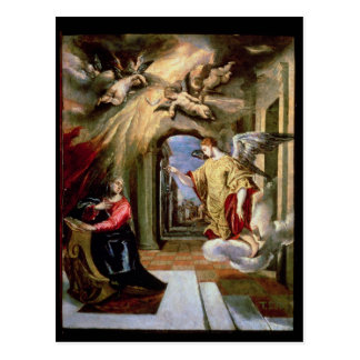 The Annunciation, c.1570-73 Postcard