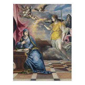 The Annunciation - El Greco Postcard