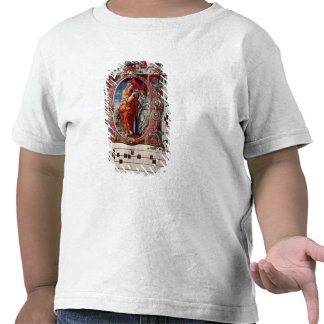 The Annunciation, historiated initial 'O' Tshirts