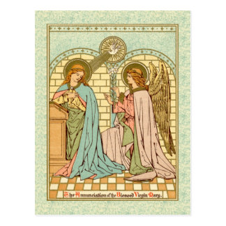 The Annunciation  (RLS 04) Postcard