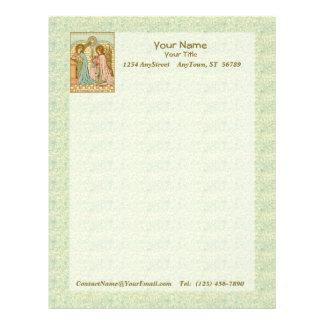 The Annunciation (RLS 04) (Sheet A) Letterhead