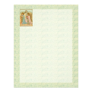 The Annunciation (RLS 04) (Sheet B) Letterhead