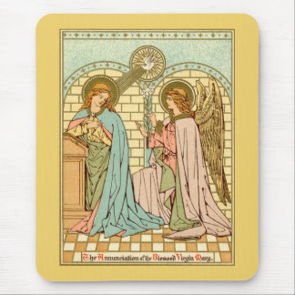 The Annunciation  (RLS 04) (Style 1) Mouse Pad