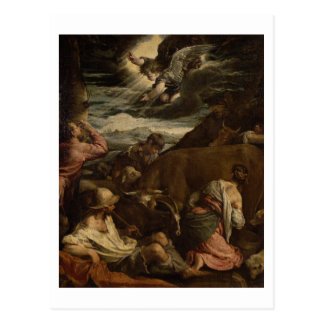 The Annunciation to the Shepherds, c.1557-8 Postcard
