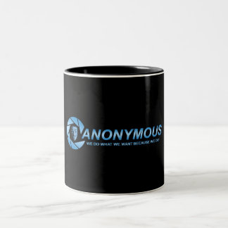 The Anonym mug
