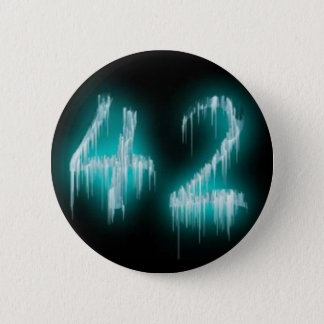 The Answer 2 Inch Round Button