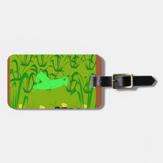 the ant and the grasshopper luggage tag