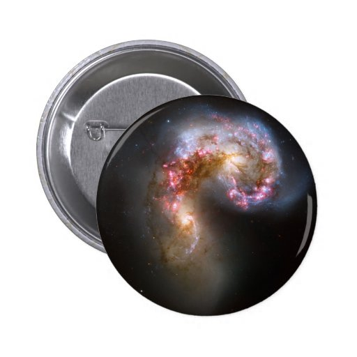 The Antennae Galaxies Pinback Buttons